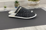 leather slippers star
