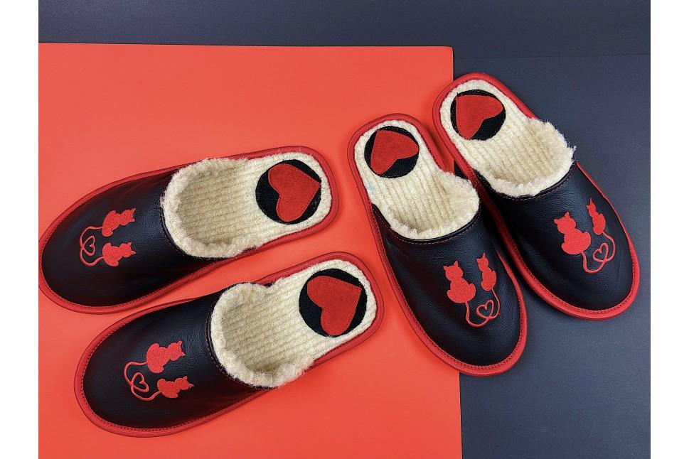 love cat slippers